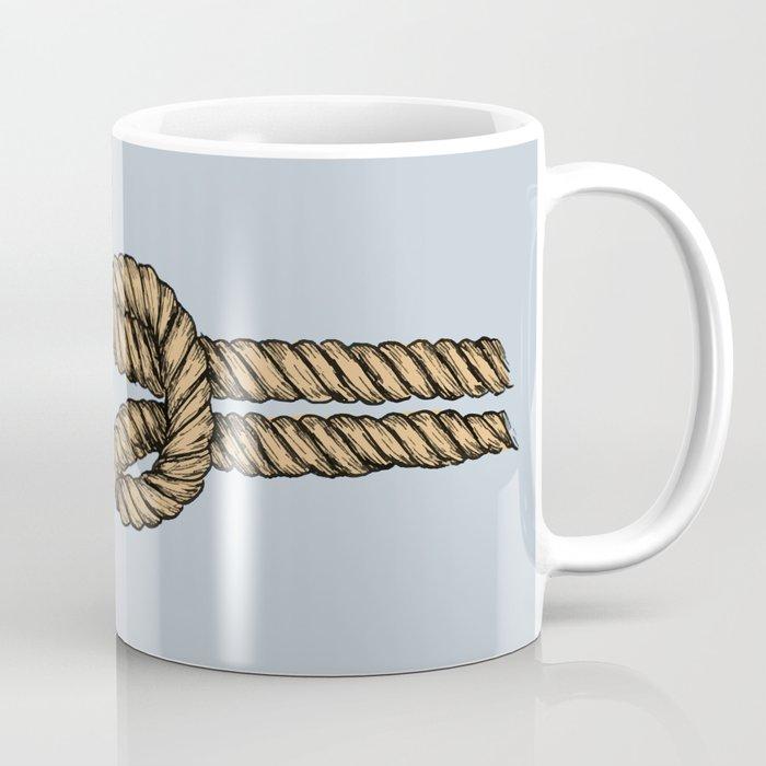 Nautical Boat Knot Coffee Mug By Newburydesigns Society6