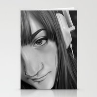gamer Stationery Cards featuring Gamer by Anais.Lalovi