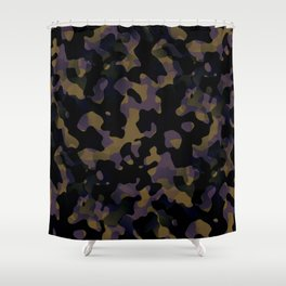 Pattern Camouflage Shower Curtain