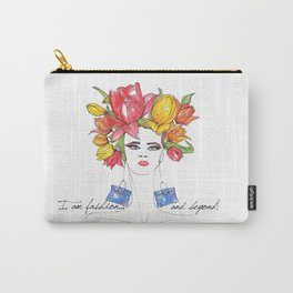 Tulips and Handbags Fashion Art  Carry-All Pouch