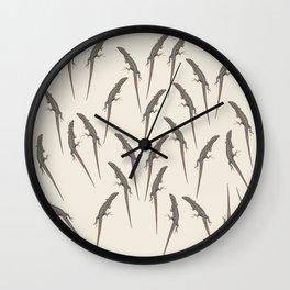 Lizards Wall Clock