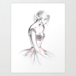 Brenna Art Print