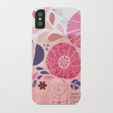 I Am Going To Daydream Today Slim Case iPhone X