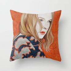 Close Up 19 Throw Pillow