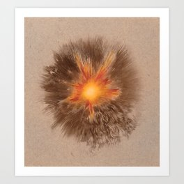 Sunburst Art Print