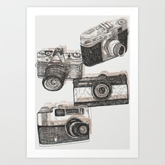 You Can't Beat The Classics Art Print