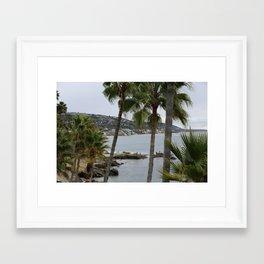 Heisler Park  Framed Art Print
