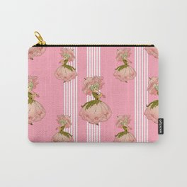 Parasol Pink Vintage Carry-All Pouch