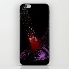 She just owned your ass iPhone & iPod Skin