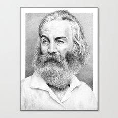 Walt Whitman Canvas Print