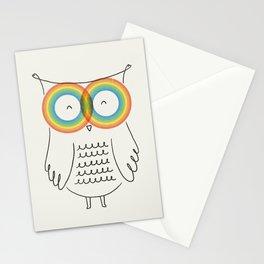 RainbOwl Stationery Cards