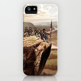 Union Soldiers On Lookout Mountain iPhone Case
