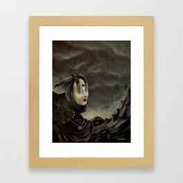Die Hexe Framed Art Print