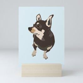 Hopeful Dog Mini Art Print