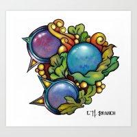 Tri/Trans Orbital Art Print