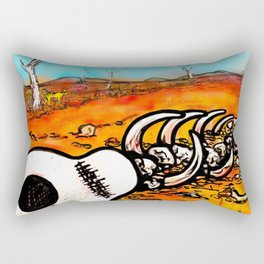 Dead heart of rock and roll Rectangular Pillow