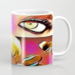 Golden Kiss Coffee Mug