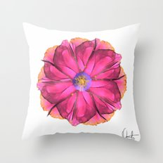 Athena-Flower  Throw Pillow