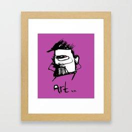 Art drawing Framed Art Print