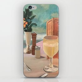champagne skies iPhone Skin