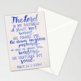 Psalm 23 Stationery Cards