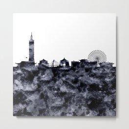 Taipei Skyline Taiwan Metal Print