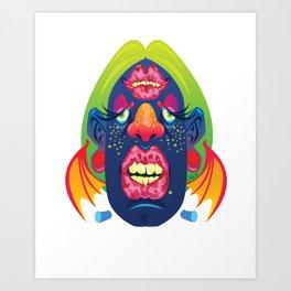FrankenBat Art Print