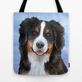 Dog 125 Bernese Mountain Tote Bag