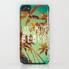 Beach iPod touch Slim Case