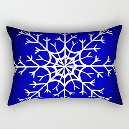 Snow flake Rectangular Pillow