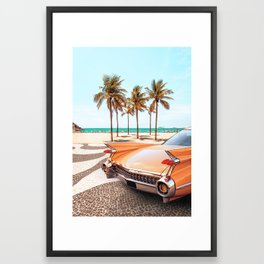Copacabana Framed Art Print