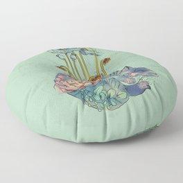 Dreaming of New Beginnings - Night Floor Pillow
