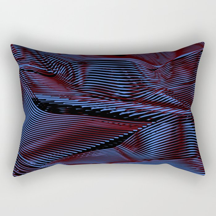 Dark Illusion Rectangular Pillow