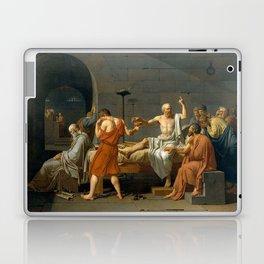 Jacques Louis David The Death of Socrates Laptop & iPad Skin