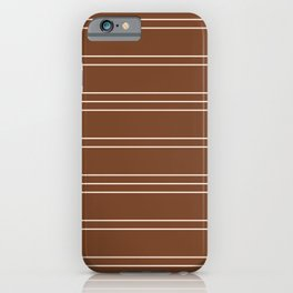 Simple Lines Pattern co iPhone Case