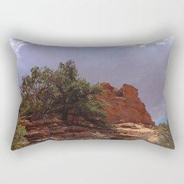 Dwarf Cedar, Navajo National Monument, Northern Arizona 2013 Rectangular Pillow