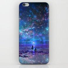 Ocean, Stars, Sky, and You iPhone & iPod Skin