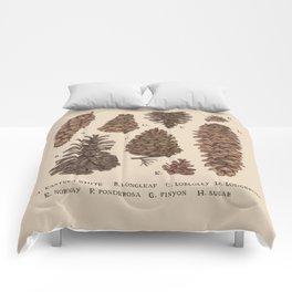Pinecones Comforters