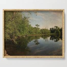 Concord River Serving Tray