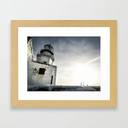 Chasing Light Framed Art Print