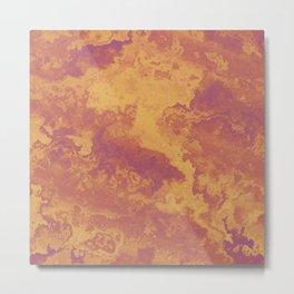Desert Terrain Metal Print
