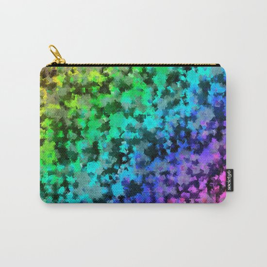 Starrider -- Abstract cubist color expansion Carry-All Pouch