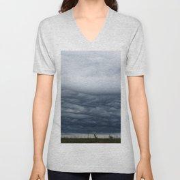 Texas Stormy Horizon Unisex V-Neck