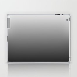 Simply Black & White Color Gradient - Mix And Match With Simplicity of Life Laptop & iPad Skin