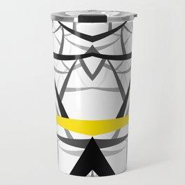 geometric architecture Travel Mug
