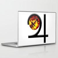 sagittarius Laptop & iPad Skins featuring Sagittarius  by IRIS Photo & Design