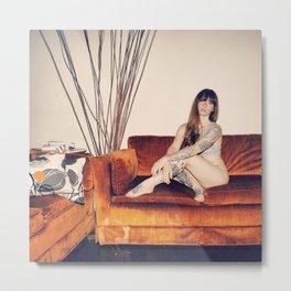 Hattie Couch Metal Print