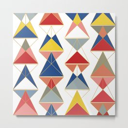 Triangular Affair II Metal Print