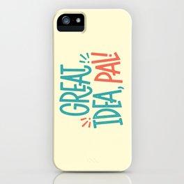 Great Idea iPhone Case