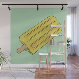 THERE'S ALWAYS TIME FOR A BANANA POP! Wall Mural